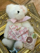 "Boyds Bear Lil' Love Longaberger Lmt Ed 2003 8"" Jointed Pink Horizon Of Hope New - $17.99"