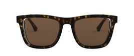 Emporio Armani EA4126 508973 Men Sunglasses Tortoise Brown 51mm Authentic - $126.26