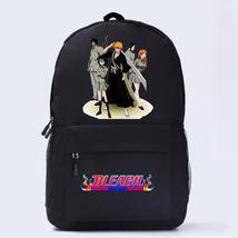 Bleach Theme Fighting Anime Series Backpack Schoolbag Daypack Team Ichigo - $26.99