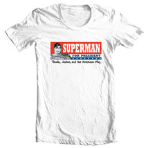 Superman For President T-shirt DC comic justice league man of steel tee SM1604 image 2