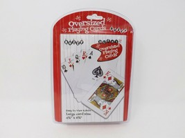Buzzy Oversized Playing Cards Deck - New - $14.99