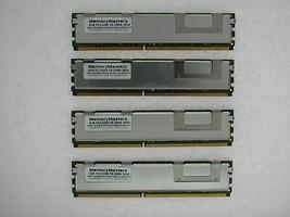 16GB 4x4GB DDR2 Fb Completamente Regulado PC2-5300F 667 Mem Dell Precision T5400