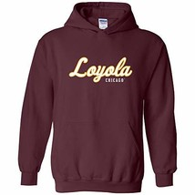 UGP Campus Apparel Loyola University Chicago Ramblers Script Logo Hoodie... - $31.30