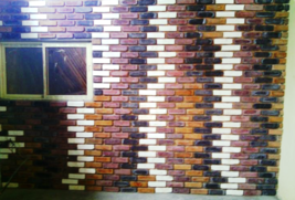 8x2 Antique Brick Side Molds (30) Make Brick Veneer For Walls Floors For Pennies image 3