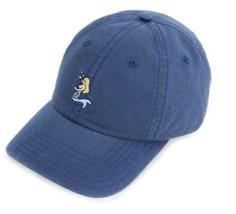 Vineyard Vines Mermaid Icon Baseball OSFA Strapback Dad Hat Cap Distress... - $34.65