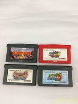 Nintendo Gba Software Set 4 Pieces Game Boy Advance - $97.52