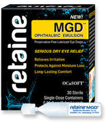 Retaine MGD ophthalmic emulsion 30 count  FREE shipping - $19.00