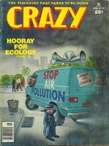 CRAZY #24 April 1977 - MARVEL COMICS VERSION OF MAD MAGAZINE - BOB LARKI... - $4.00