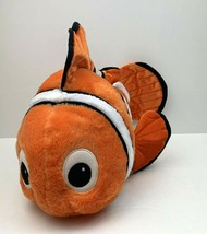 Disney Store Finding Nemo Plush Orange Nemo 20 Inch Long Stuffed Animal - $16.32