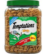 TEMPTATIONS Classic Treats for Cats Seafood Medley Flavor, 30 oz. Tub - $20.99+