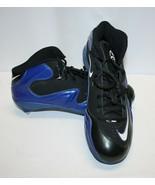 Nike Zoom Merciless - Black/Blue Cleats (Men's 14) - Used - $28.70