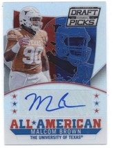 2015 Panini Prizm Collegiate Draft Picks All Americans Autographs # Malcom Brown - $28.00