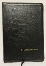 Holy Bible PTL Parallel Edition KJV Living Large Print Concordance Black... - $69.27