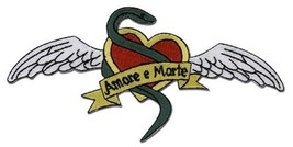 """Bleach Anime Sado Tatoo Wings Embroidered 5"""" Patch, NEW UNUSED - $7.84"""