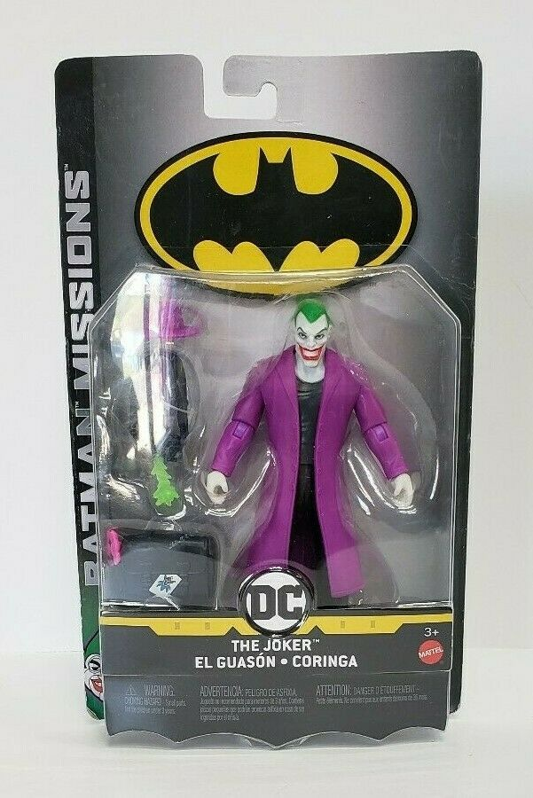 "Primary image for Mattel 2018 DC Comics Batman Missions The Joker 6""  Action Figure"