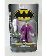 "Mattel 2018 DC Comics Batman Missions The Joker 6""  Action Figure  - $14.03"