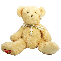 Dakin 14 Inch Teddy Bear With Bowtie, Beige - $18.99