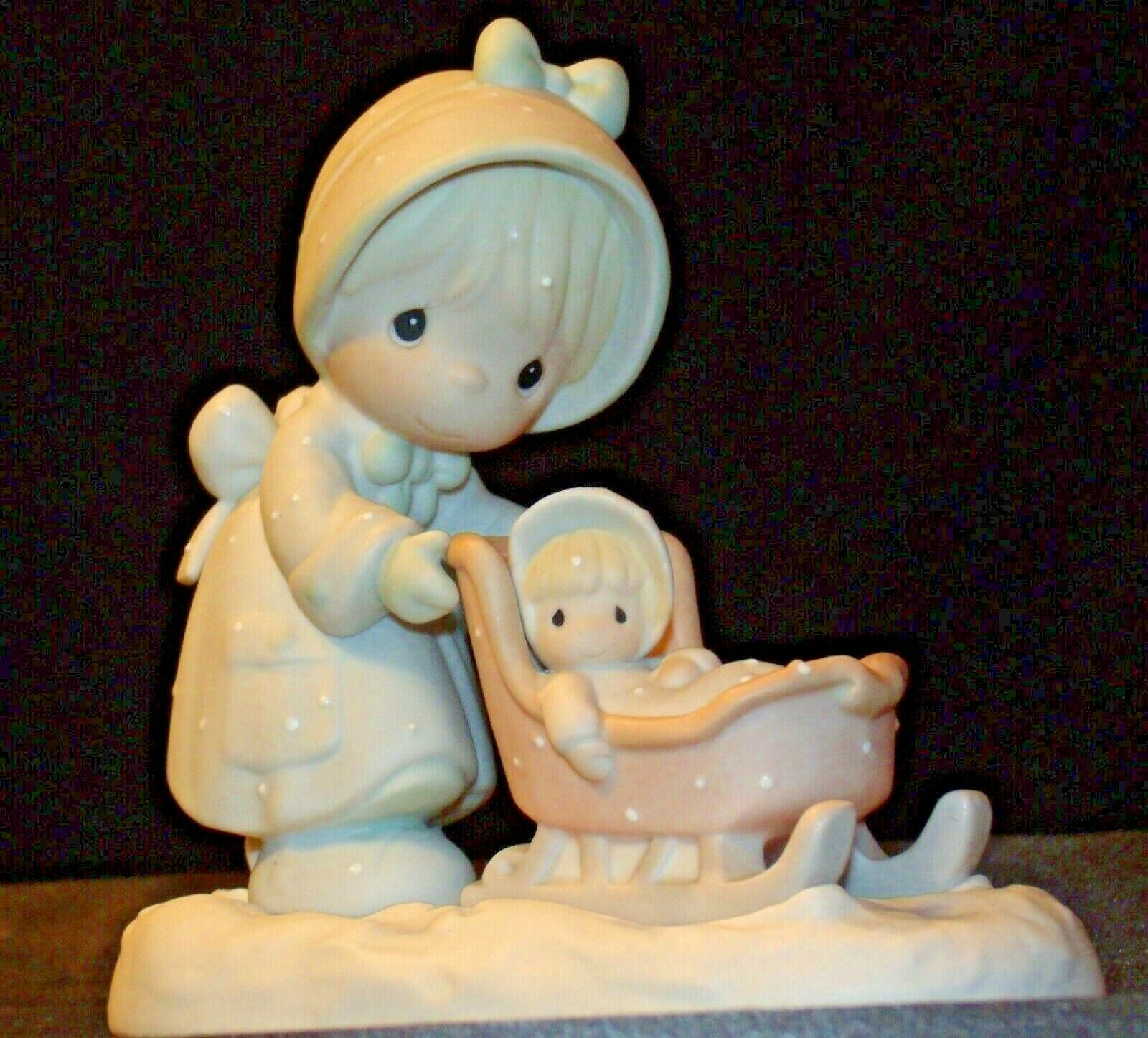 Precious Moments January 109983 AA-191882 Vintage Collectible