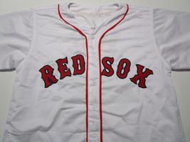 DAVID ORTIZ / AUTOGRAPHED BOSTON RED SOX WHITE CUSTOM BASEBALL JERSEY / COA image 2