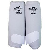 White Medium Professional Choice Tack Smbii Sports Medicine Horse Boots ... - $65.33