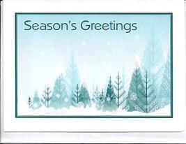 Season's Greetings Holiday Greeting Card - $4.00