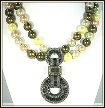 "HEIDI DAUS ""SPARKLE IS A MANY SPLENDID THING"" CRYSTAL DROP NECKLACE - $89.99"