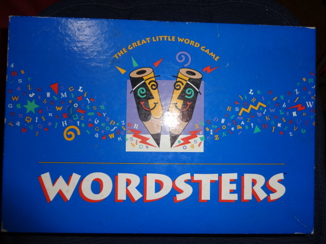 WORDSTERS party game