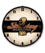 "Collectable Sign and Clock STROM1611673 14"" Stromberg Equipped Lighted C... - $129.95"