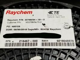 Raychem/TE M22759/34-10-2 #10awg Dual XL-ETFE Spec 55 Hook-Up/Lead Wire ... - $64.34