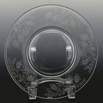 Tiffin Fuchsia Elegant Glass Plate Luncheon Plates a set of 8 image 10