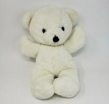 "16"" VINTAGE 1979 DAKIN WHITE CUDDLES TEDDY BEAR STUFFED ANIMAL PLUSH TOY... - $64.52"