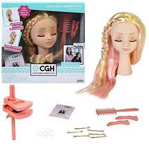 CGH Cute Girls Hairstyles! Styling Head - Straight Blonde Hair Doll - $25.62