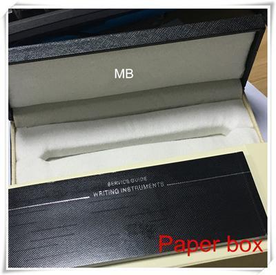 Luxury Pen Box with The papers Manual booklet For Gift mb case supply