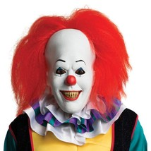 Morris Costumes RU68544 Pennywise Latex Mask With Hair Days Until SHIPPED:7 - $56.67