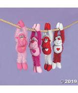 Fun Express Plush Long Arm Valentine Gorilla's, 1 dz, Valentine's Day, C... - $22.99