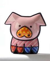 Romero Britto Mini Pig- Pearle 3 Dimensional Figurine #331386 - $39.59