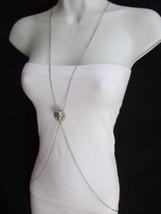 Damen Halskette Mode Silber Elegant Ketten Körper Schmuck Löwe Charm - $22.52