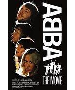 "ABBA ""The Movie"" Stand-Up Display - Gift Idea Band Collectibles Memorabilia - $15.99"