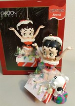 Carlton Cards Christmas Ornament 1997 BETTY BOOP SURPRISE! - $9.89
