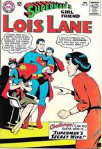 Superman's Girlfriend Lois Lane Comic Book #55, DC Comics 1965 FINE+ - $28.95