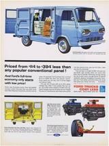 1962 Ford Econoline Van Print Ad - $9.99