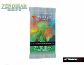 Zendikar Rising Collector Booster Pack Magic the gathering MTG FOIL FACT... - $23.74