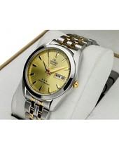 Orient TriStar RA-AB0030G Orient Automatic men's watch golden dial steel - $115.00