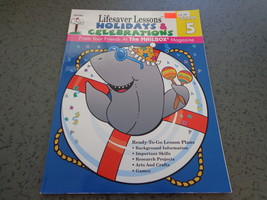 Lifesaver Lessons Holidays & Celebrations grade 5 Mailbox book arts craf... - $7.99