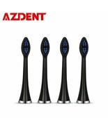AZDENT® 4pc Replacement Heads Fit AZ-5 Pro Sonic Electric Toothbrush Sma... - $11.74