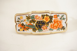 Stratton Branded Antique Art Deco Finger Ring Compact, C023 - $25.00