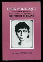 Dark soliloquy: The selected poems of Gertrud Kolmar [i.e. G. Chodziesner] (A Co image 1