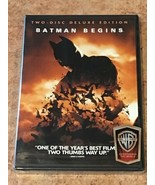Batman Begins (DVD, 2-Disc Special Edition) BRAND NEW / FACTORY SEALED - $5.99