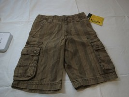 Lee boys shorts NWT adjustable waist 4 R regular youth cargo utility bro... - $33.41