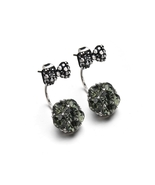 BAHYHAQ - Rhinestone Bowknot Stud Earrings Crystal Earring - $4.22